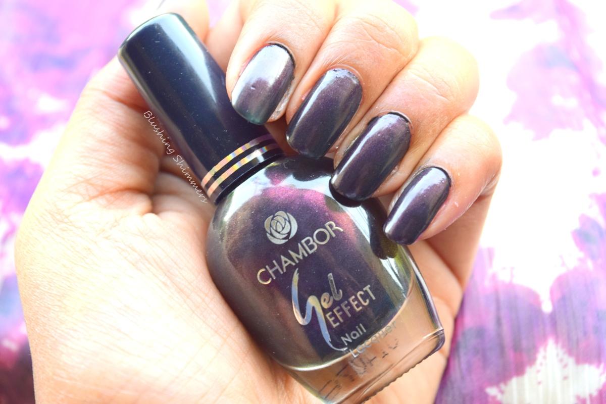 Chambor Gel Effect Nail Paint shades