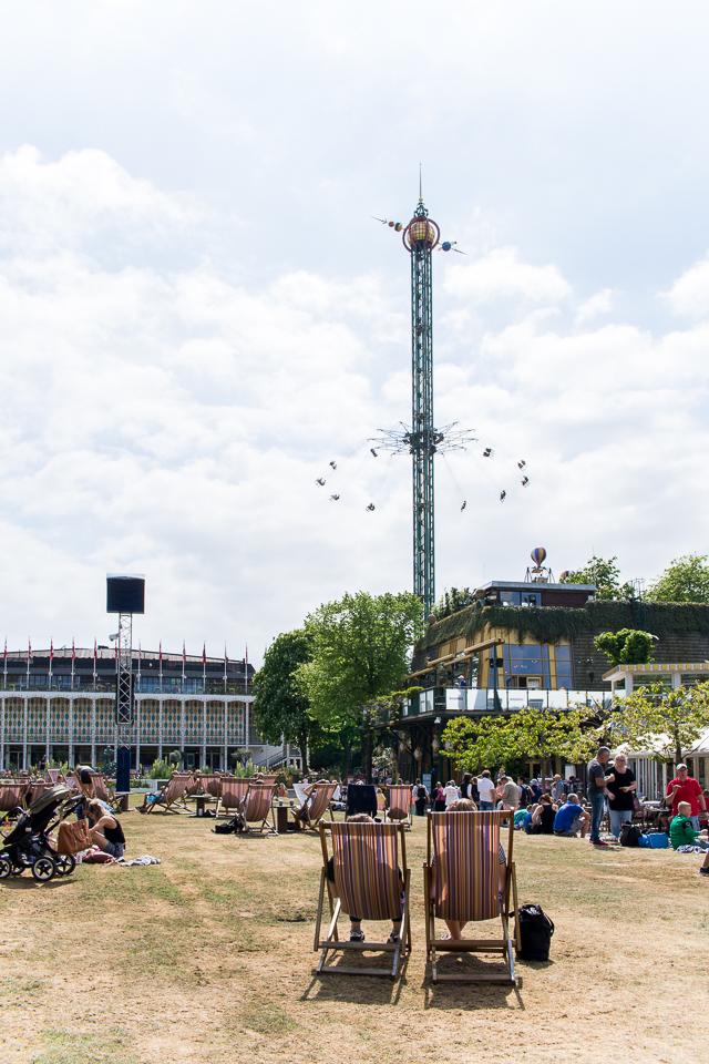Kööpenhaminan Tivoli, matkustelu, Kööpenhamina