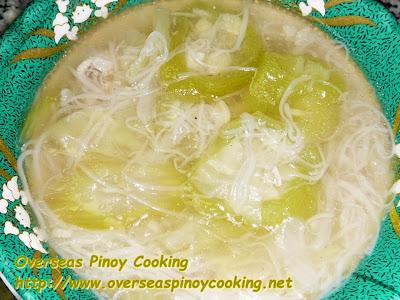 Patola Misua Soup
