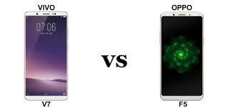 Perbandingan Antara Oppo F5 Vs Vivo V7, Mana Yang Terbaik?