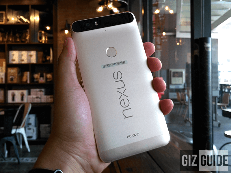 Nexus 6P look at the back