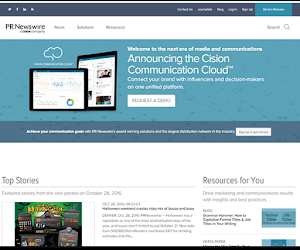 PR Newswire global network reaches nearly 10,000 websites, portals and databases