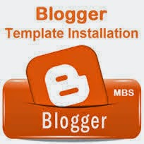 How to install a new Blogger Template