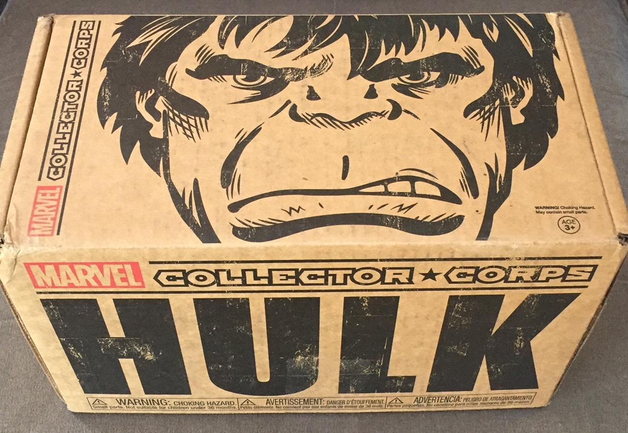 Funko Marvel Collector Corps INCREDIBLE HULK December ...