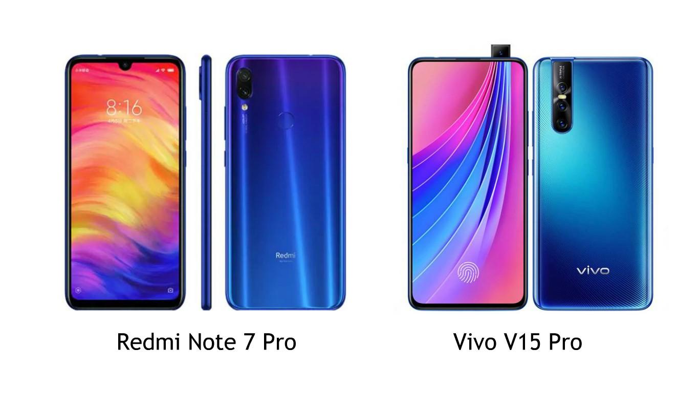 Perbandingan Spesifikasi Redmi Note 7 Pro Dengan Vivo V15 Pro