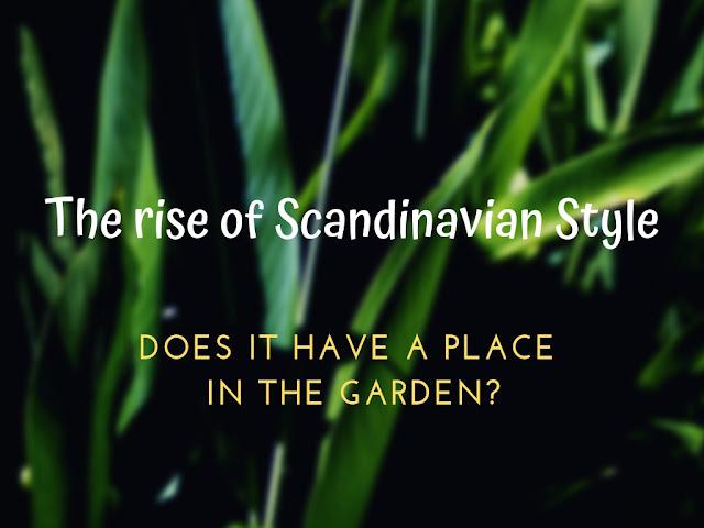 Scandinavian Style Garden Decor