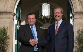 Nigel Farage's 'Bad Boys Of Brexit' Look Toward 'Calexit'