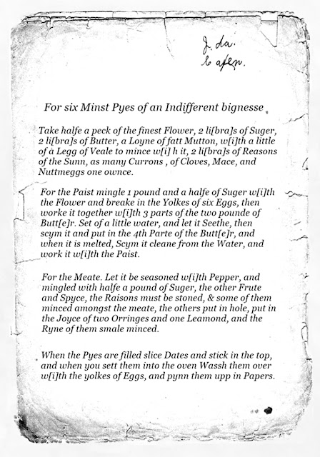 1624 mince pie recipe