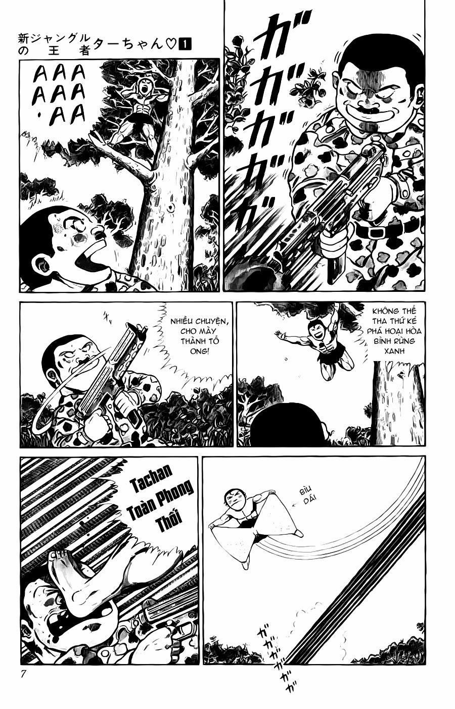 Chúa rừng Ta-chan chapter 113 (new - phần 2 chapter 1) trang 7