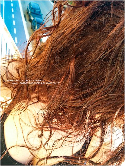 crema modellante ricci  inci gyada cosmetics, vegan bio, capelli hair routine applicazione