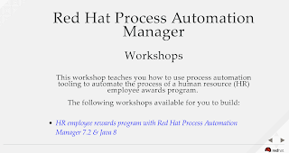 process automation manager workshops