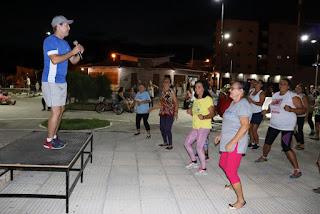 Prefeitura de Picuí dá início ao Projeto Zumba na Praça