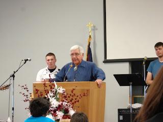 Pastor D J McCarter