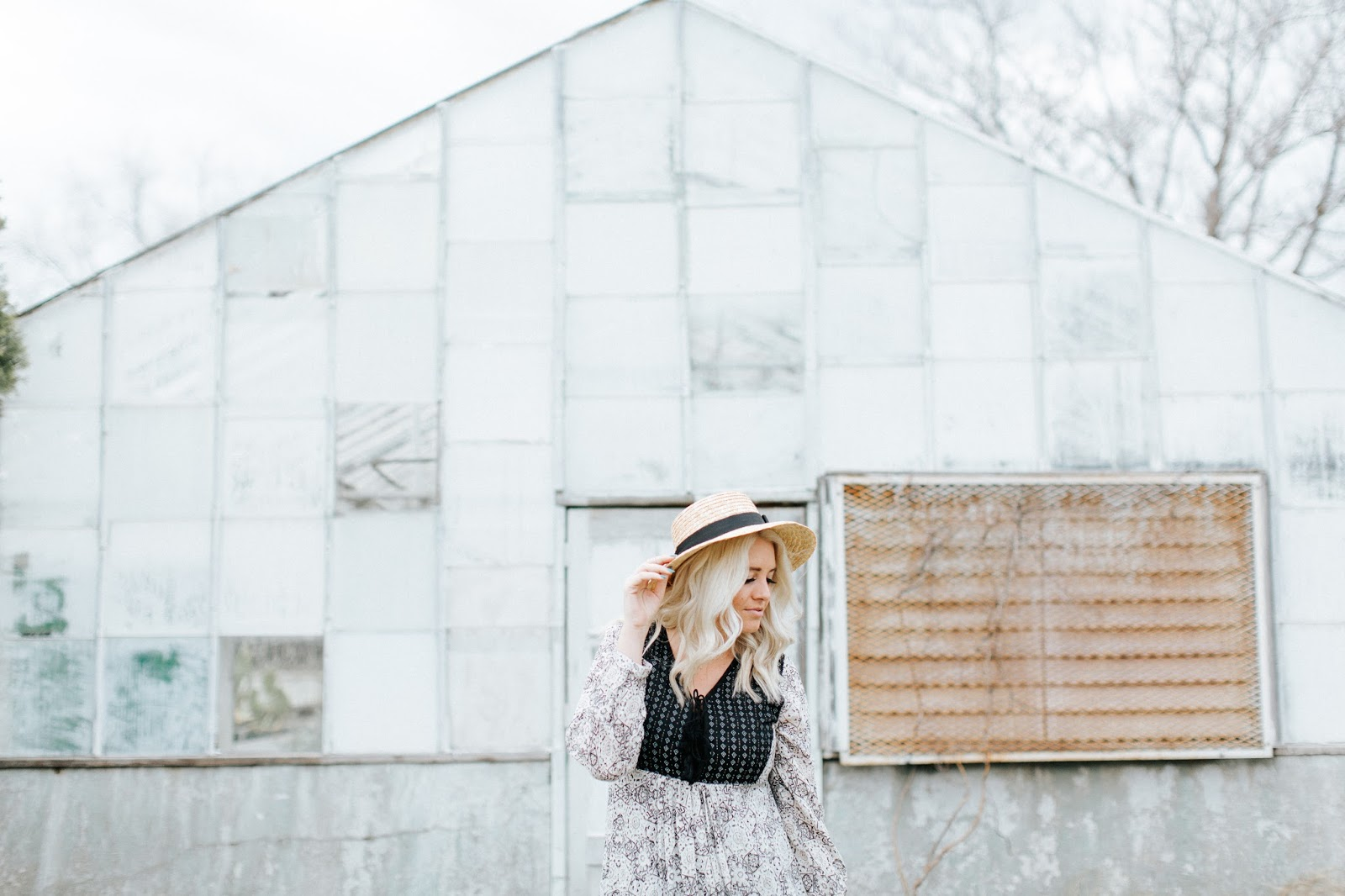 Spring Outfit, Platinum Hair, Utah Fashion Blogger