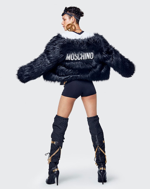 moschino tv x h&m collection lookbook