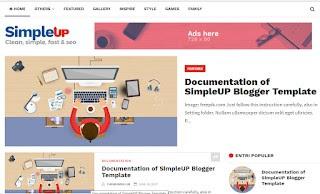 Daftar template blogger yang fast loading, responsive dan seo friendly di tahun 2019
