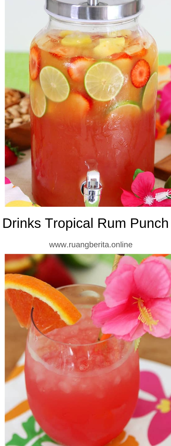 Drink Tropical Rum Punch