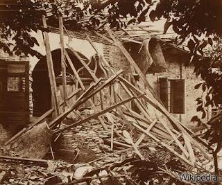 Renovasi pasca meletusnya Gunung Gede: