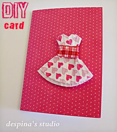 DIY mother's day card step 2