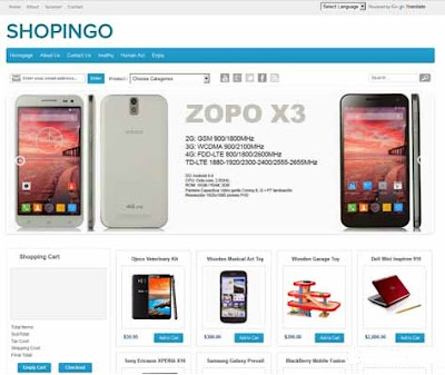 Shopingo blogger plantilla gratuita 2018 2019 2020