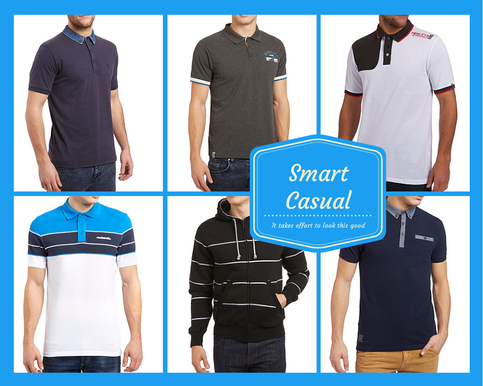 Smart casual polo shirts - It takes effort to look this good