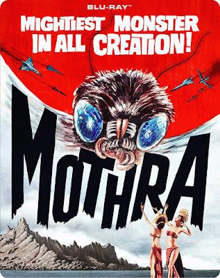 Mothra 1961 Blu Ray Steelbook Edition