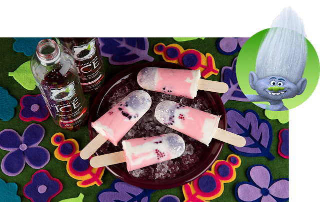 Black Raspberry Smoothie Pops Recipe