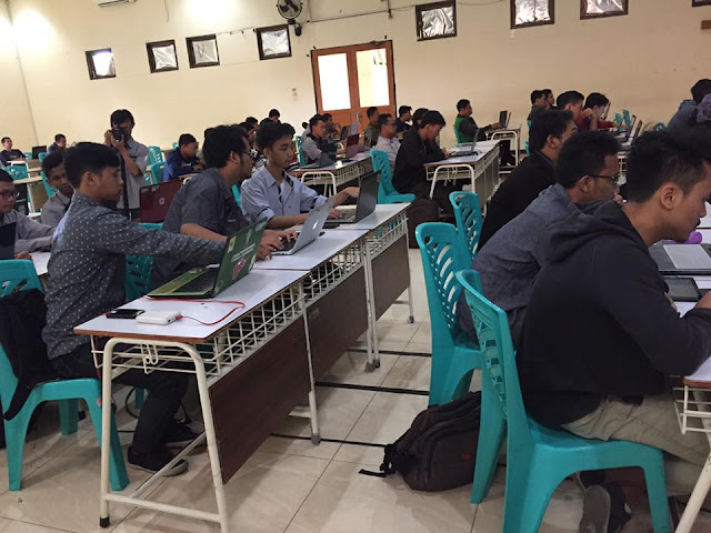 Peserta terlihat antusias mengikuti workshop - Umar Fadil
