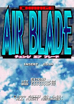 Change Air Blade+arcade+game+portable+retro+shoot'em up