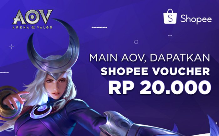 Main AOV Dapat Voucher Shopee - Shopee.co.id