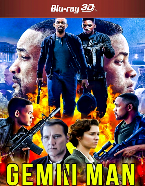 Gemini Man 2019 3D Hindi Dual Audio 400MB BluRay 480p ESubs Free Download