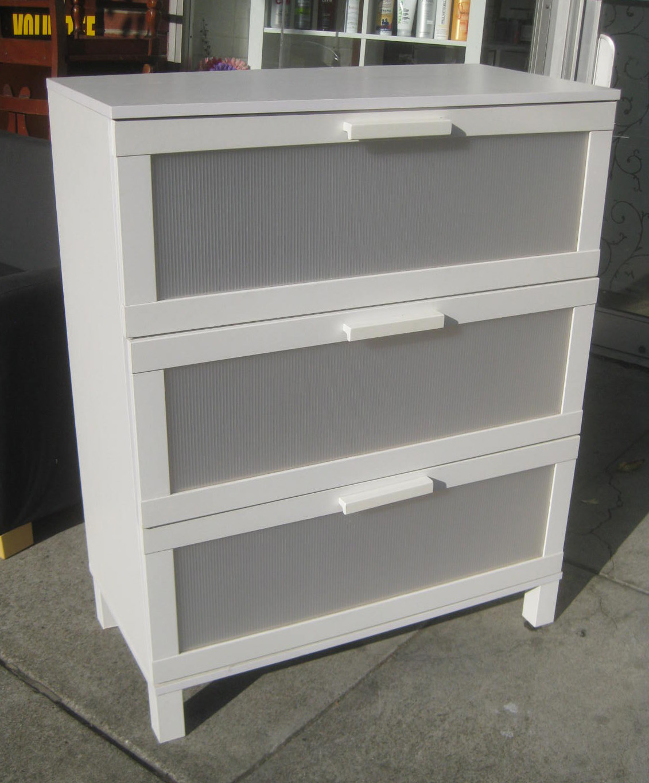 UHURU FURNITURE & COLLECTIBLES: SOLD - White Ikea Dresser ...