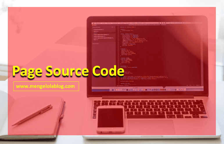 pengalaman dengan page source code