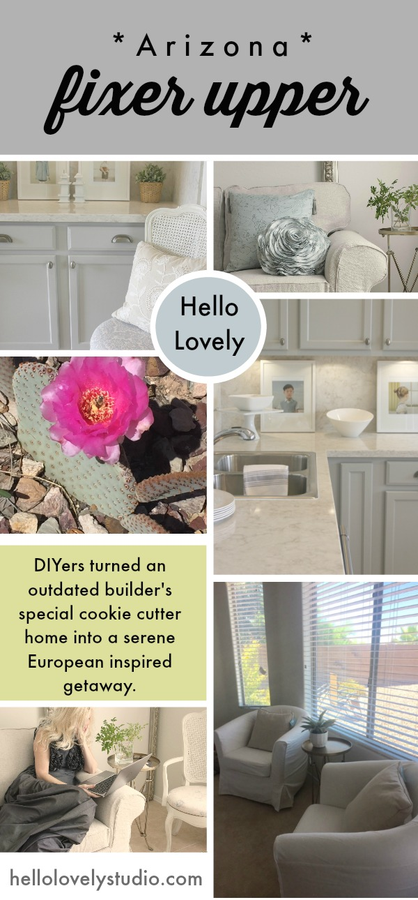 Our Arizona Fixer Upper project on Hello Lovely Studio.