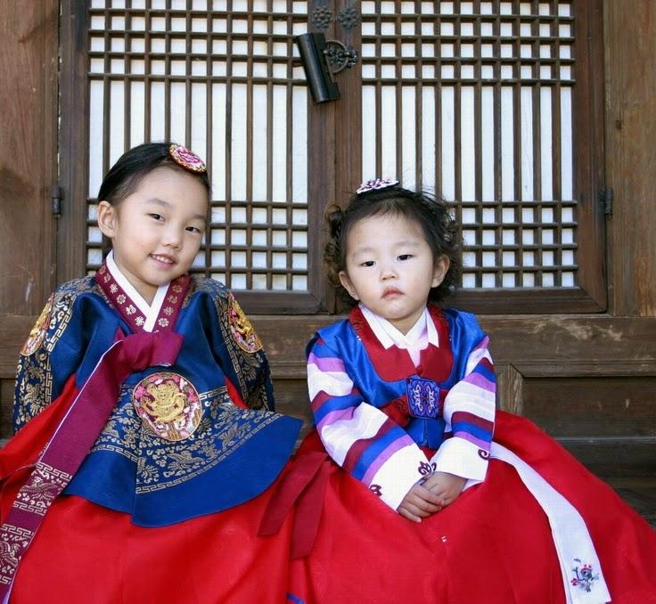 Children S Clothing Hanbok Trasisional Fashion Style