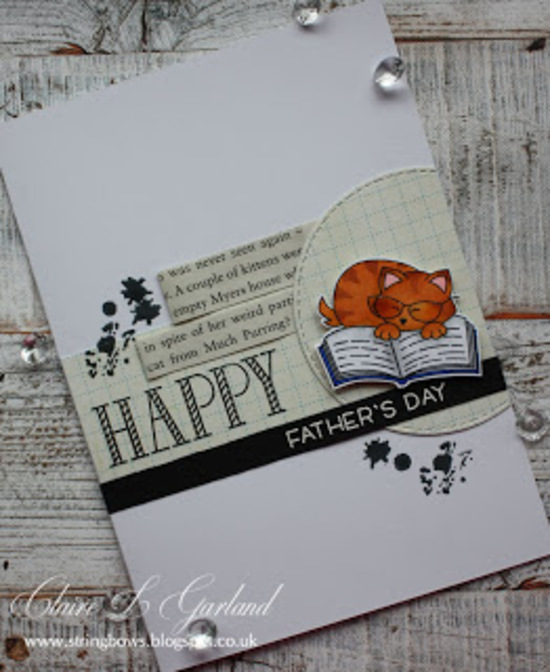 Happy Father's Day by Claire features Newton's Book Club by Newton's Nook Designs; #newtonsnook