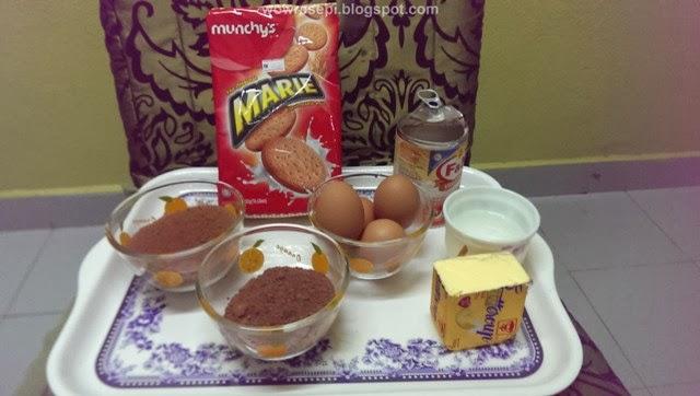 resepi kek batik simple   step  step wow resepi Resepi Kek Batik Biskut Marie Chef Wan Enak dan Mudah