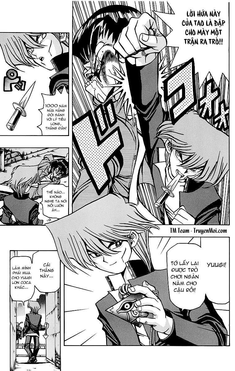 YUGI-OH! cháp 25 - cú đấm 1 inch trang 19
