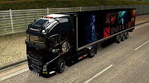 Dota 2 pack for Volvo 2013 & 2012 trucks