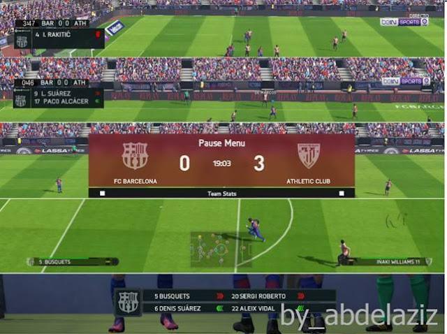 LaLiga Santander Scoreboard PES 2017