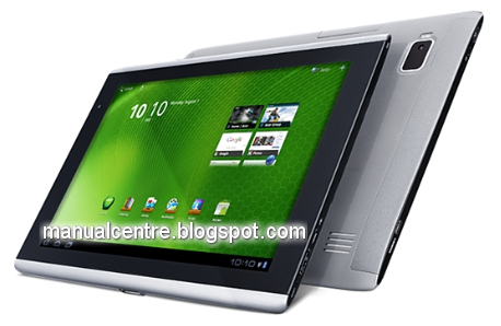 Acer Iconia TAB A500: 10.10 inches