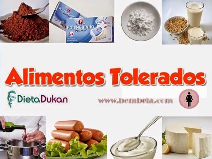 Bem bela alimentos tolerados dieta dukan - Dieta dukan alimentos prohibidos ...