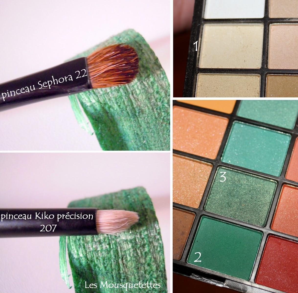 Makeup Saint Patrick vert - Les Mousquetettes©