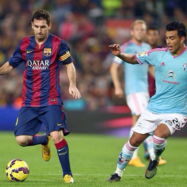 FC Barcelona Vs Celta De Vigo 2014-2015