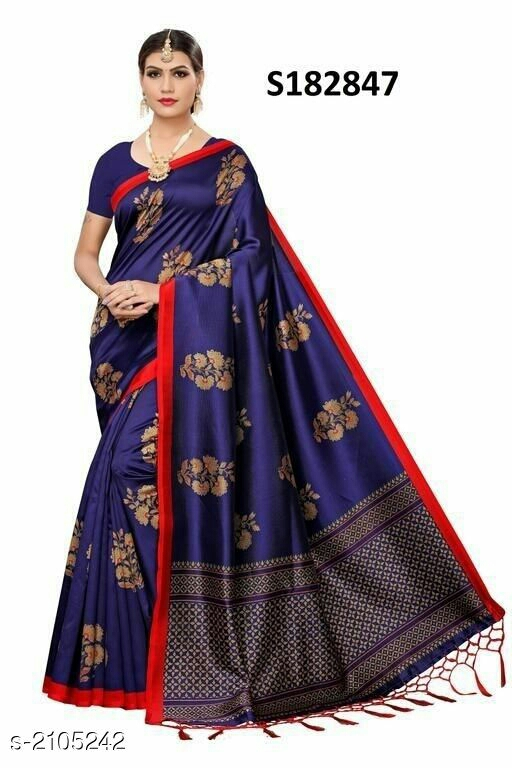 Stylish Art Silk Printed Women's Saree