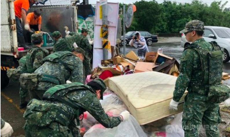Kurang Lebih 40.000 Tentara Siaga Jika Bencana banjir Landa Taiwan