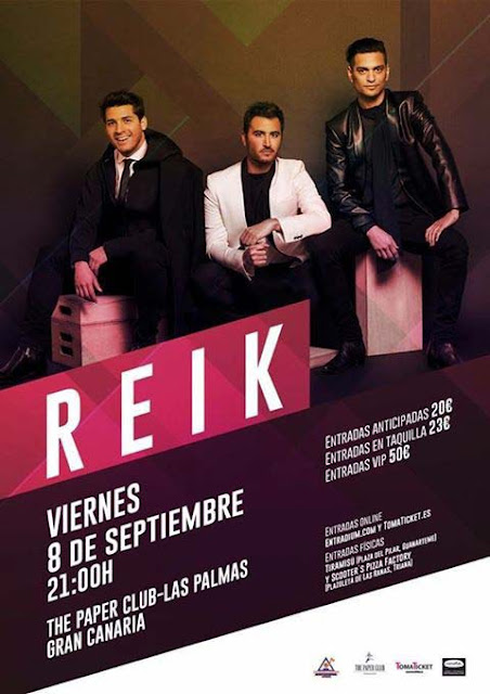 Concierto de Reik en Gran Canaria