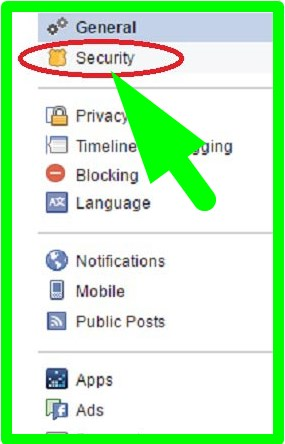 logout remotely facebook