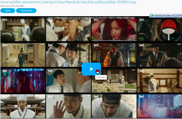 Screenshots Drama Korea Live Up to Your Name, Dr Heo aka Myeongbulheojeon aka Deserving of the Name aka 명불허전 (2017) Episode 01 1080p 720p 480p 360p Subtitle English Indonesia MP4