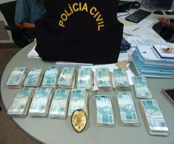Polícia Civil recupera mais de R$ 140 mil em dinheiro e objetos de valor furtados de idoso no Crato